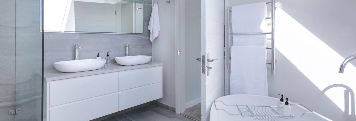 Välja golv till badrummet